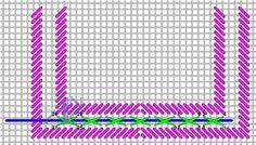 Neon rays ribbon