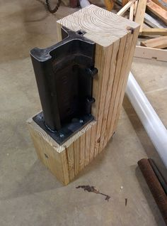 Homemade Forge and Anvil - Imgur I had never thought of this. this is clever. I…