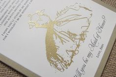 Will you be my Bridesmaid Cards Matron of by MoonlightStamper