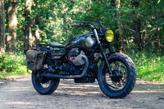 RH Motorcycles' adventure-ready Moto Guzzi California