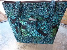 For the lover of big purses! Handcrafted Large Batik Fabric Shoulder by AShop4Kicks on Etsy, $32.50