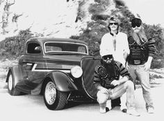 ZZ Top frontman Billy F. Gibbons had this chopped 1933 Ford built in the early 1980s - the car would later be known as the Eliminator