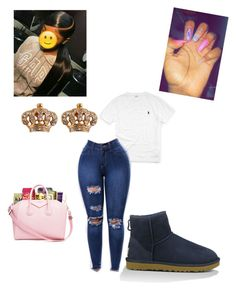 Fall look by lailamurray on Polyvore featuring polyvore, fashion, style, UGG Australia, Juicy Couture, Ralph Lauren and clothing