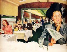 Diner Car - 1948