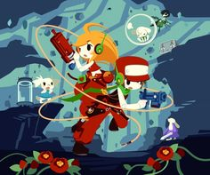 cave story character art - Google Search