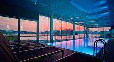 Zachód słońca nad Jeziorem Rożnowskim Spas, Resort Spa, Marina Bay Sands, Building, Lemon, Pictures, Travel, Image, Poland