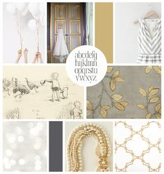 Inspiration board for Emily Gerald Photography - Elle & Co.