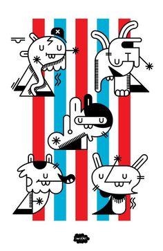 Xomatok, artista e ilustrador peruano miembro de LOV-E. https://www.facebook.com/Loveartcollective be.net/xomatok