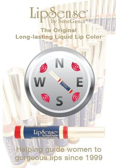 The SeneGence guidance!  I've worn this product for every day for over 10 years and just love it!  Lip color that doesn't dry out my lips and stays on all day!  Let me know if you'd like to try it and I'll hook you up with my distributor Susi!