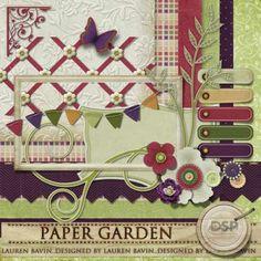 Paper Garden [DL-LB-XSVC-PaperGarden]