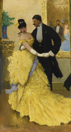 Jean Béraud 1849 - 1935 FRENCH LA DANSE oil on panel | sotheby's