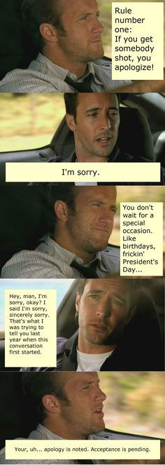 Hawaii Five-O - Steve & Danny, this is one of my favorite scenes, ha ha, so funny!
