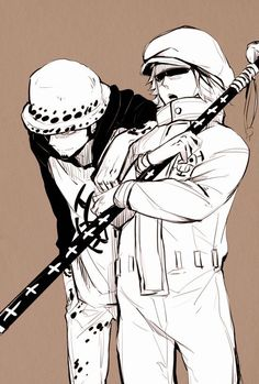 Shachi and Trafalgar Law