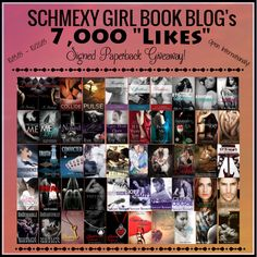 Ok so for the good stuff!  We went completely off our of our Top 5 Must Reads lists to bring you our absolute MUST READ books as signed paperbacks!!! So you are getting the Schmexy Girls FAVORITE books signed by the TOP authors we have read!! Yes feel free to SQUEEE!!! We sure as hell did!! Of course all our giveaways are subject to our Rules & Conditions  We love you and Thank you!! Good Luck!