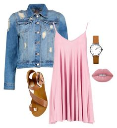 """""""Untitled #34"""" by alifya-kurawar on Polyvore featuring Boohoo, Steve Madden and Lime Crime"""
