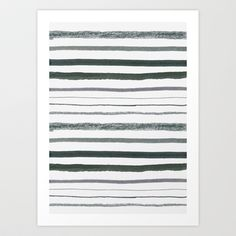 Stripes Art Print by Georgiana Paraschiv - $18.00