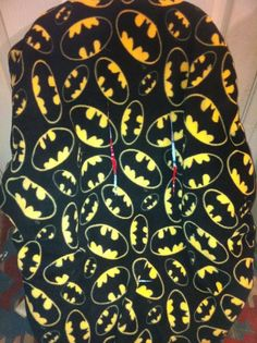 Batman Toddler Carseat Cover on Etsy, $40.00