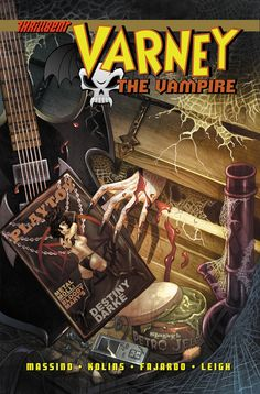 Varney the Vampire sets the record straight about the true origin of Bram Stoker's Dracula in new indie comic.