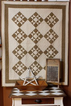 Ohio Star pattern and or kit available at redroosterquilts.com