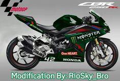 After Modification Honda CBR250RR