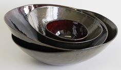 Set of Oil Spot bowls Bowls, Tableware, Serving Bowls, Dinnerware, Tablewares, Dishes, Place Settings, Mixing Bowls