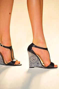 Christian Siriano & Lela Rose unveil their s/s 2012 design collaborations for Payless shoes no less