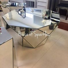 Classic Mirror Coffee Table - House of Sparkles - 3