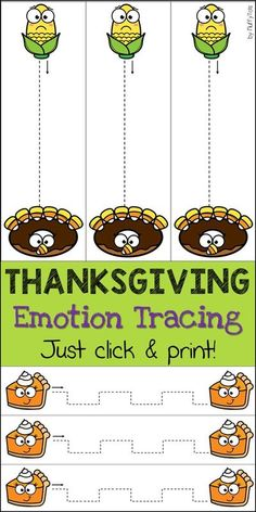 Looking for easy to use Thanksgiving Activities for Kids at Home? This Thanksgiving tracing pack is perfect to keep your kids busy while you cook Thanksgiving meals. Just click and print, your kids will have loads of fun without nagging you all day! Preschool Worksheets, Preschool Activities, Thanksgiving Activities For Kids, Pre Writing, Motor Activities, Business For Kids, Kids House, Printables, Cook