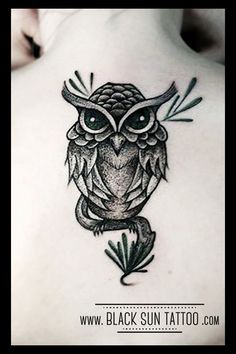 Tattoo by Black Sun Tattoo, Warsaw , Poland #dotwork #dotworktattoo #owl #owltattoo #owldotwork #owldotworktattoo #birdtattoo #dotworkbird #blacsuntattoo