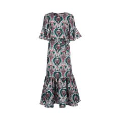 Shop this LaDoubleJ Editions Liberty Rosa Curly Swing Dress and a lot more vintage loot on www.LaDoubleJ.com
