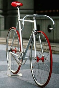 That's a sharp bike!