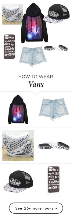 """""""Untitled #2"""" by tbonequeen on Polyvore featuring HVBAO, JFR and Vans"""