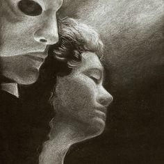 The Phantom Of The Opera Phantom Of The Opera, Wall Art, People, People Illustration, Folk, Wall Decor