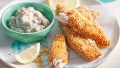 Crunchy on the outside with delicious soft centres, these fish fingers tickle the tastebuds. The French call them goujons – now that makes them extra fancy!