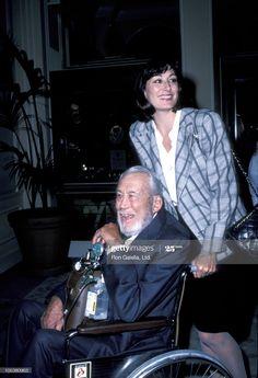 News Photo : John Huston and Anjelica Huston during Amnesty... Anjelica Huston, John Huston, Amnesty International, News
