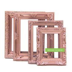 rose gold picture frames