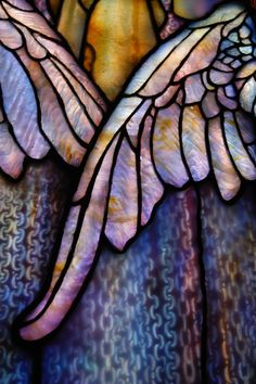 Tiffany Wings | Beautiful stained glass inside Arlington Str… | Flickr - Photo Sharing!