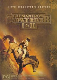 """""""Man From Snowy River I & - cowboys, horses, Australia and a great soundtrack Movies Showing, Movies And Tv Shows, Horse Movies, Horse Books, Man From Snowy River, Good Old Movies, Clint Walker, River I, Happy Trails"""