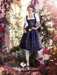 Sportalm Hopfgarten Dirndl LODENFREY Vogue
