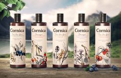 Cornica® Natural Cosmetic — The Dieline - Branding & Packaging
