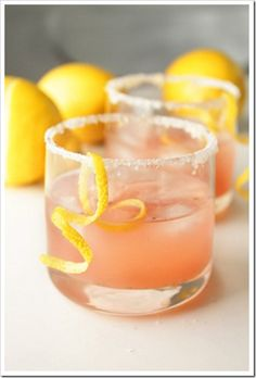Vanilla Citrus Cocktail | Little Black Dress Events