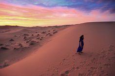 Burning sunset, Sahara Desert, Morocco    Photographer Ruth Maria Murphy  © G Adventures