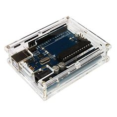 KKmoon Transparent Acrylic Protective Case for Arduino UNO R3 DIY Module Board Demoboard Shell ** Read more  at the image link.