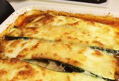 Recipe: Low-Carb Zucchini/Courgette Lasagna