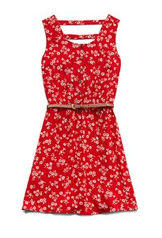 Cool Girl Floral Dress (Kids) | FOREVER21 girls - 2000088225