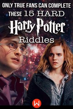Quiz: Only True Fans Can Complete These 15 HARD Harry Potter Riddles - Women.com