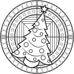 christmas mandala coloring pages printable Christmas Mandalas To Print. Mandala Coloring Pages, Colouring Pages, Printable Coloring Pages, Coloring Books, Coloring Sheets, Christmas Mandala, Big Christmas Tree, Christmas Colors, Mandalas Painting