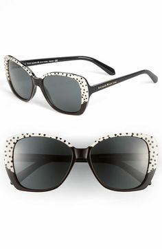kate spade new york 'brenna' polarized sunglasses available at #Nordstrom