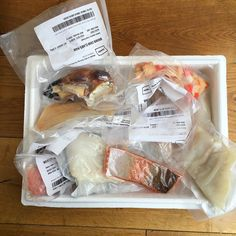 Uber excited by my @fishboxuk delivery which I received yday! This amazing…