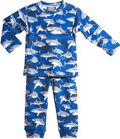 Shadowy Sharks Infant And Toddler Pajamas